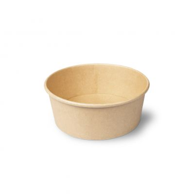 Natural Ware Salade Bowl Kraft bruin 750 ml - 45 stuks