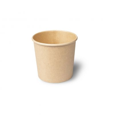 Natural Ware Soep Container Kraft bruin 360 ml - 25 stuks