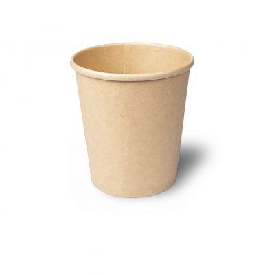 Natural Ware Soep Container Kraft bruin 450 ml - 25 stuks