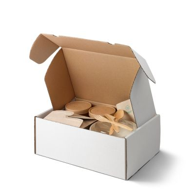 Bio To Go Delivery box wit 35 x 23 x 13 cm