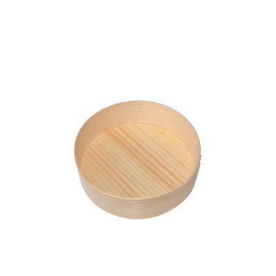 Truewood Rond serveer bakje hout (9cm) - 20 stuks