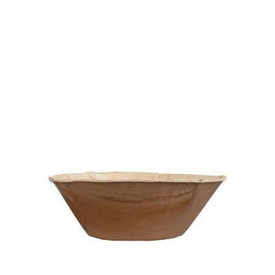 Hampi Raaga Bowl palmblad kom (16cm) - 25 stuks