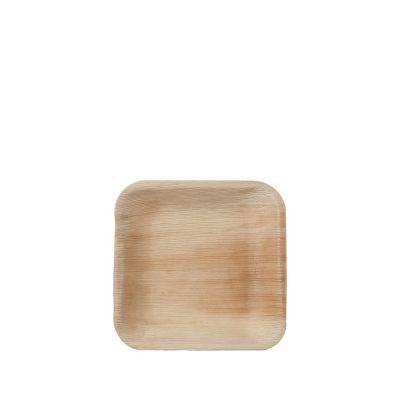 Hampi Jeeva Square S palmblad bord (17cm) - 25 stuks