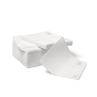 Natural Ware FSC papieren servet wit (33cm) - 50 stuks