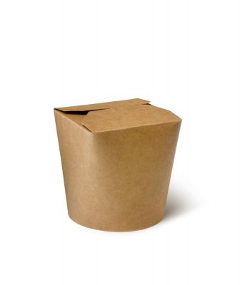 Natural Ware Noodle box kraft (750ml) - 50 stuks