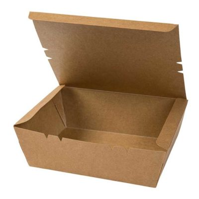 Natural Ware Kraft Take away Click box (1100ml) - 50 stuks