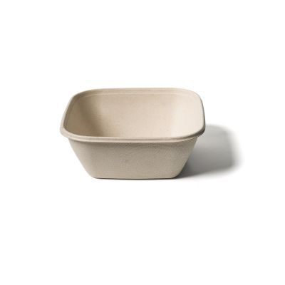 Natural Ware Square  takeaway box (1000ml) - 50 stuks