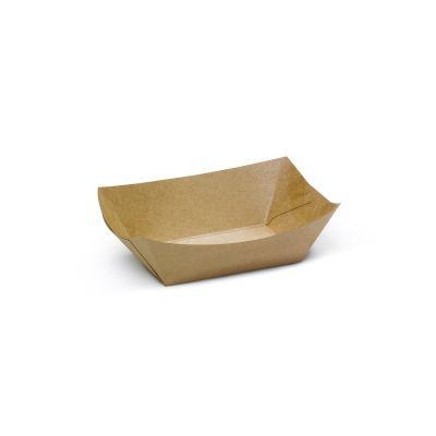 Natural Ware Snack tray kraft (175ml) - 250 stuks