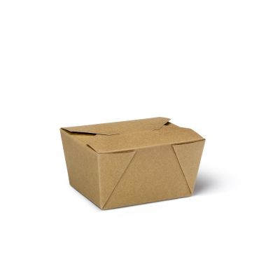 Natural Ware Takeaway box kraft (700ml) - 50 stuks