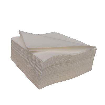 Papieren servetten wit (33x33cm) - 50 stuks